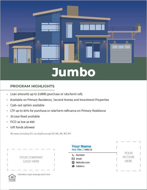 Jumbo Program Flyer Thumbnail