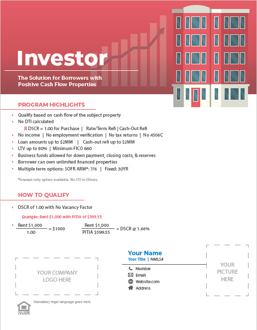 Non-QM Investor Program Flyer Thumbnail