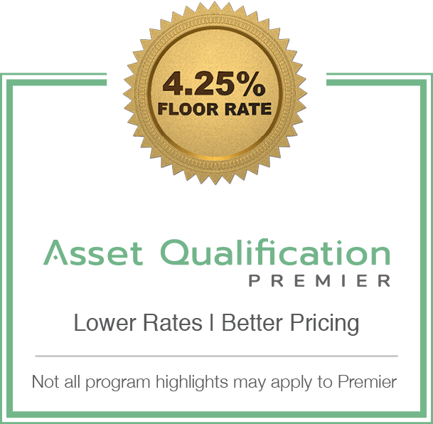 Non-QM Asset Qualification Program Sticker