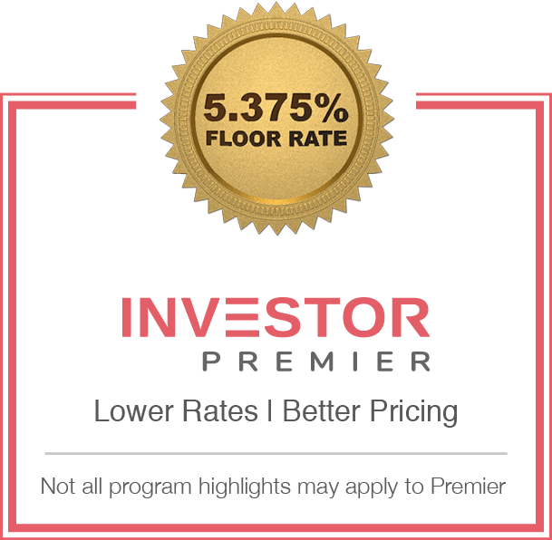 Non-QM Investor Program Sticker